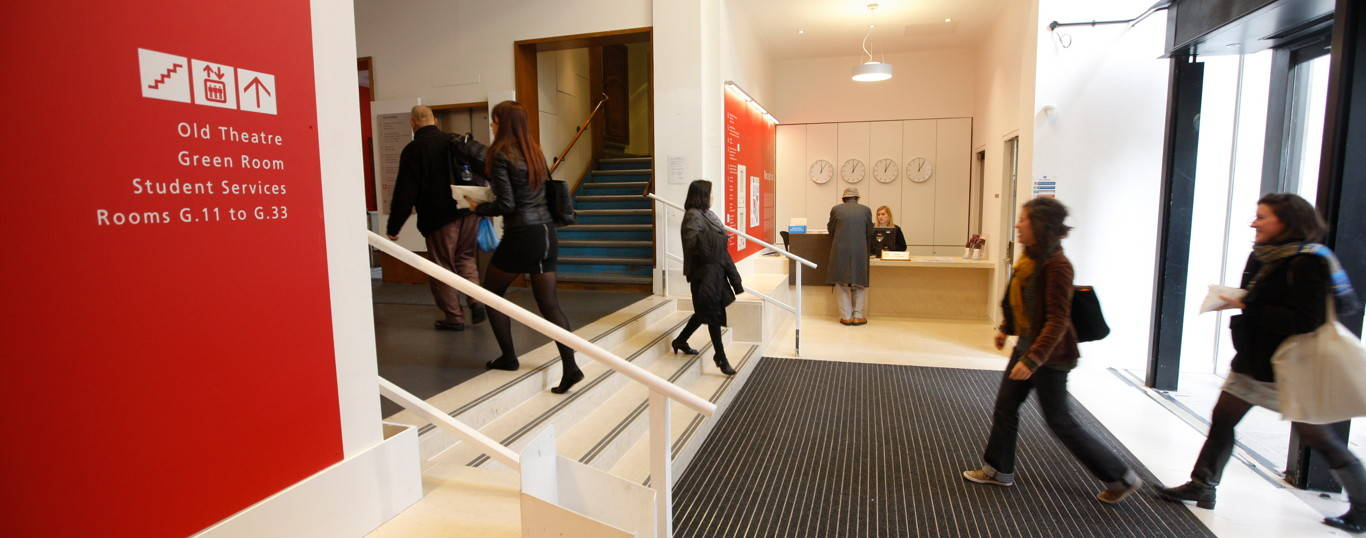LSE's main reception in the Old Building