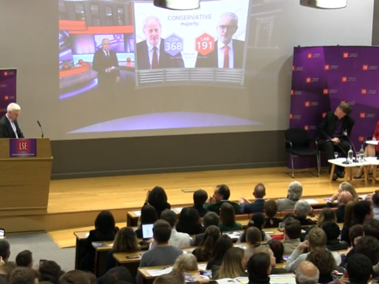 The Story of the Election Night 2019 at LSE