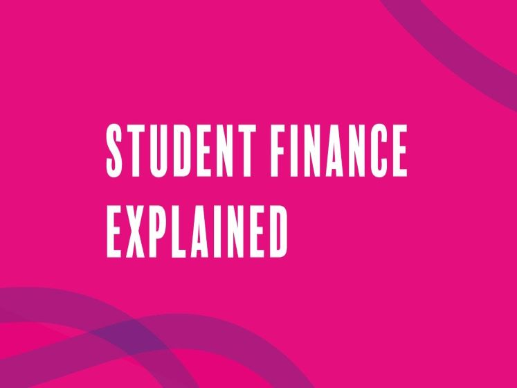 Student finance explained - a video by Student Finance England