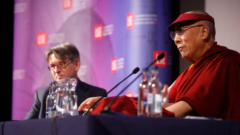 The Dalai Lama speaks at LSE