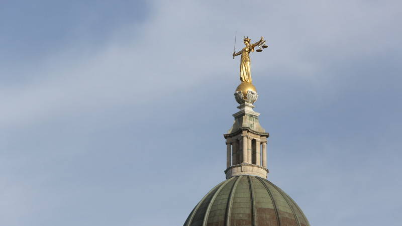 Roof of the Old Bailey