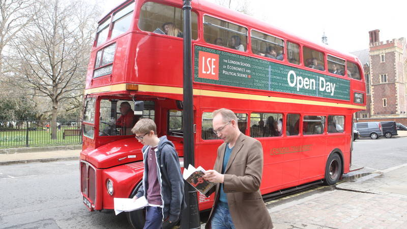 An open day at LSE