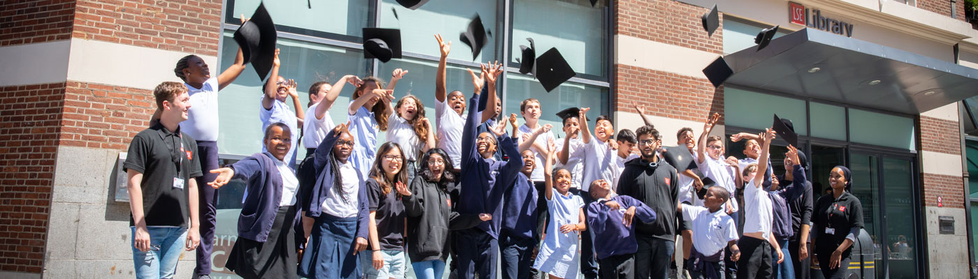 Moving On students 'graduate' from their LSE Widening Participation scheme