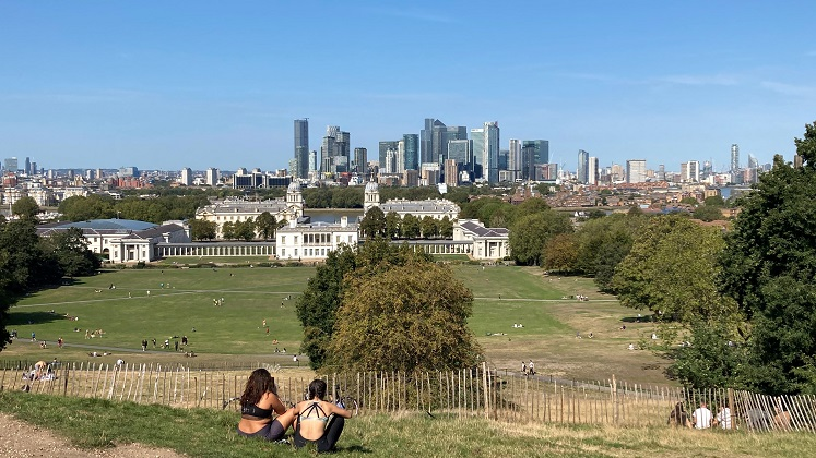 London Skyline - Greenwich