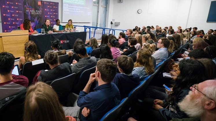 Event from 21 September 2017 hosted by the LSE Centre for Women, Peace and Security