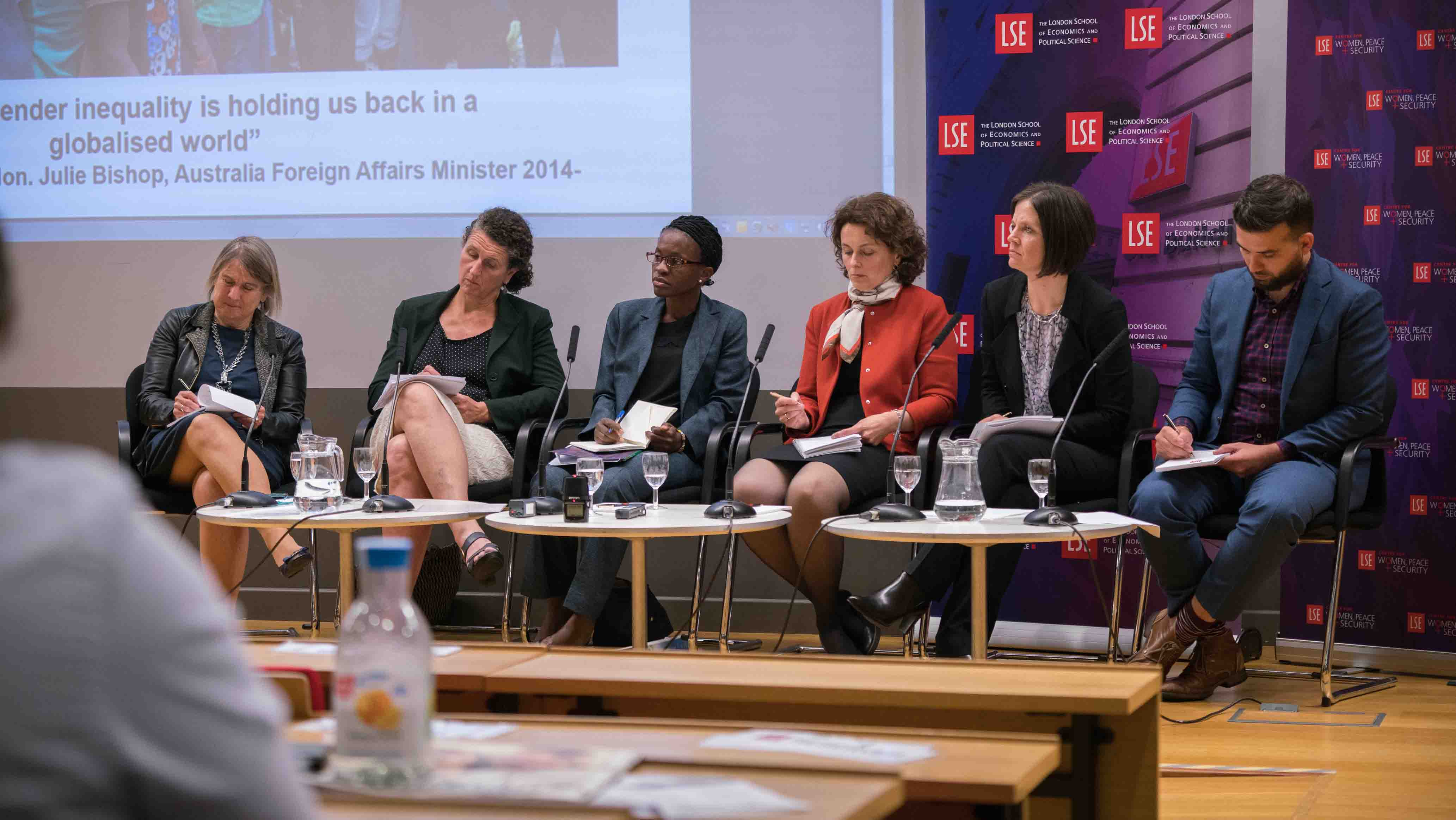 Women, peace and security in the global arena event
