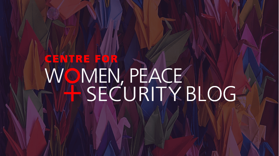Women, Peace and Security Blog image