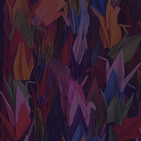 Image of peace cranes
